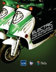 Two-Wheelers in India and Vietnam - Clean Air Initiative