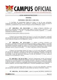 Atos Administrativos 23.11.2011 - DTI- Diretoria de Tecnologia da ...
