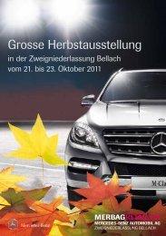 Grosse Herbstausstellung - Mercedes-Benz Automobil AG