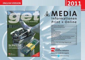 Informationen Print + Online ENGLISH VERSION - konstruktion.de