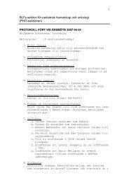 Protokoll Årsmöte 2007 - BLF