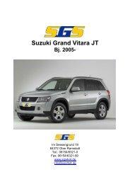 Preise Suzuki Grand Vitara JT Bj. 2005 - SGS