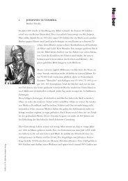 1. JOHANNES GUTENBERG Bücher für alle Im Jahr 1450 wurde in ...
