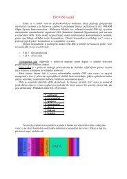 ISO OSI model - eAMOS