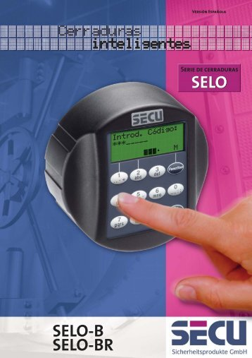 Prospekt SELO-BR SP.fh10.fh8 - SECU Sicherheitsprodukte GmbH