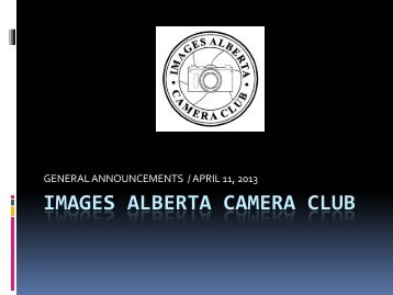 Apr 11 2013. - Images Alberta Camera Club