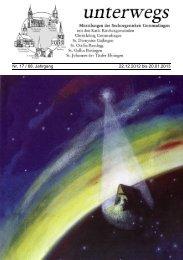 Nr. 17 / 68. Jahrgang 22.12.2012 bis 20.01.2013 - Seelsorgeeinheit ...
