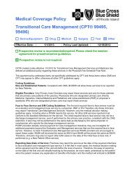 Medical Coverage Policy Transitional Care Management (CPT ...