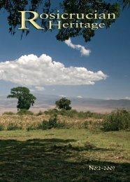 Rosicrucian Heritage Magazine - 2007-09 - AMORC