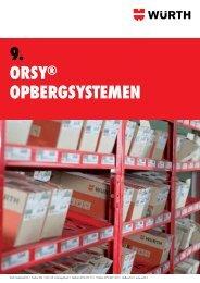 9. ORSY® OpbeRgSYStemen - Würth Nederland