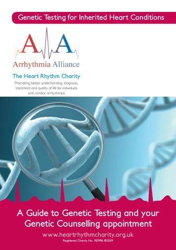 Genetic Testing for IHC - 25 Feb 09.indd - Arrhythmia Alliance