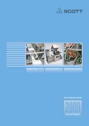 Annual Report 2009 - Scott Technology Ltd