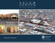 Salem Center E-Teaser.indd - Jones Lang LaSalle