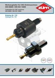 Werkzeughalter für CNC-Drehmaschinen DIN 69880 ... - ToolSpann