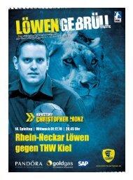 Ausgabe 08 (Saison 2010/2011): THW Kiel - Rhein-Neckar Löwen
