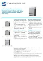 IPG HW Commercial Mono High End Laserjet Datasheet ... - Icecat.biz