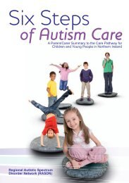 Six Steps of Autism Care - Belfast Health and Social Care Trust