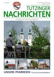 Download Heft 06 / Juni 2012 - Tutzinger Nachrichten