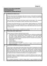 Allegato A) Sistema Licenze Nazionali 2013/2014 Criteri ...