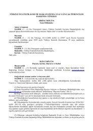 Staj Başvuru Formu Dahil - Türkiye İstatistik Kurumu
