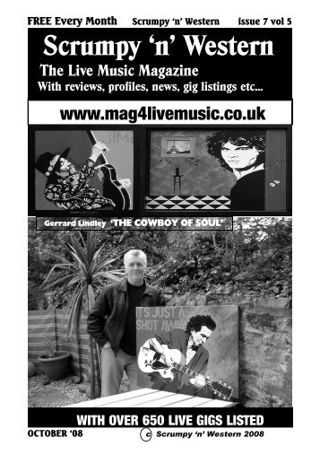 FREE Every Month Scrumpy 'n' Western issue 7 - Mag 4 Live Music