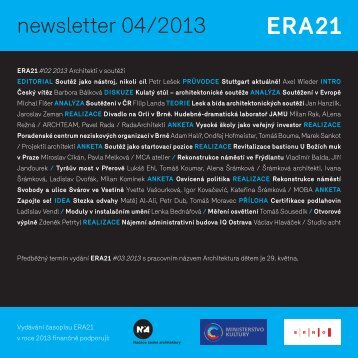 newsletter 04/2013 - Era21