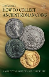 Ancient Coins 8/13 - Littleton Coin Company