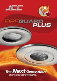 of Fire-rated LED Downlights - WF Senate