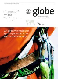 Globe - Issue 1 2010 - Bilfinger Industrial Automation Services