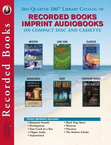 Recorded Books - Film Movement