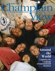 Download this issue as a PDF - Champlain College