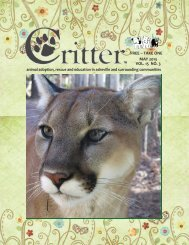 ALL PAGES-MAY 2013 - Critter Magazine