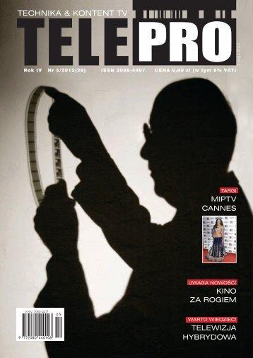 TELEPRO 5/2012 - Powrót do strony głównej