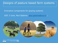 Designs of pasture based farm systems - European Grassland ...