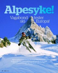 Vagabond tester ski- Europa! - Engelberg