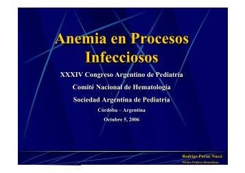 Anemia en Procesos Infecciosos Anemia en Procesos Infecciosos