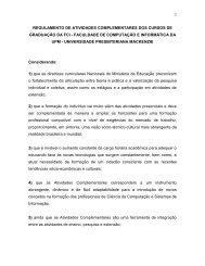 regulamento de atividades complementares dos cursos de ...
