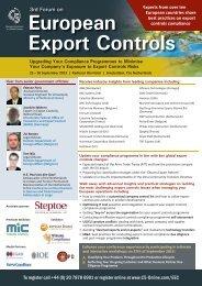 European Export Controls - C5