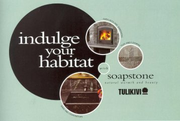 Indulge Your Habitat - Mid-Atlantic Masonry Heat