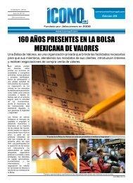 160 AÑOS PRESENTES EN LA BOLSA MEXICANA DE VALORES