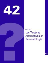 Las Terapias Alternativas en Reumatología