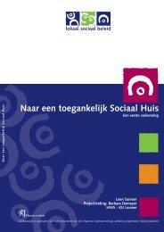 Naar een toegankelijk Sociaal Huis - Vlaanderen.be