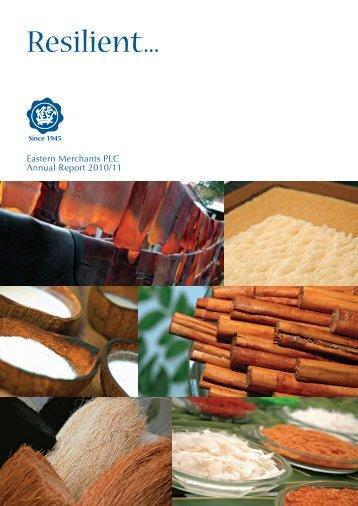 Annual Report 2010/11 - Eastern Merchants