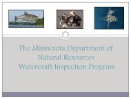 Invasive Species Prevention through Watercraft Inspection