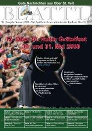 12. Ober St. Veiter Grätzlfest 30. und 31. Mai 2008 - Plattform Ober ...