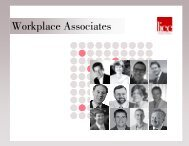 Workplace Associates orkplace Associates - The London Institute for ...