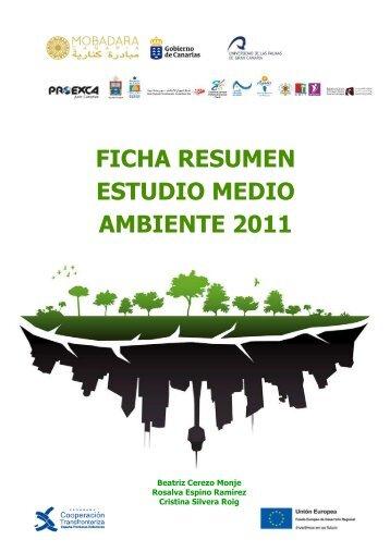 Ficha Tecnica Medio Ambiente - Proexca