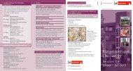 Seniorenprogramm 55+ Jan. bis Juli 2013 - Bürgerzentrum Chorweiler