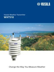 WXT510 - Live Data AB
