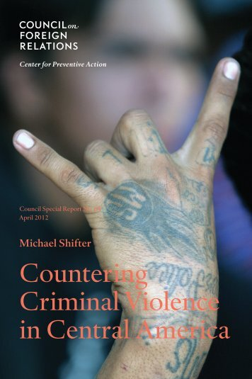 Countering Criminal Violence in Central America